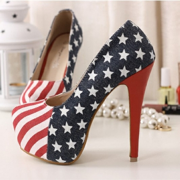 2012 Europen Styles Night Club Thick Platform High Stilletto Heels Blue Women Shoes