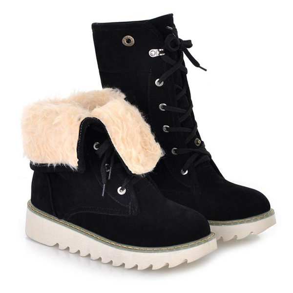 Short Snow Boots - Cr Boot