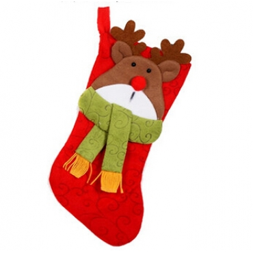 Cheap Fashion Red Christmas Sock Gift(20g)