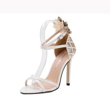 PU Stiletto Super High Fashion Sandals
