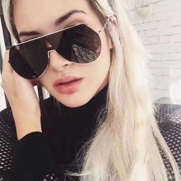 Euramerican Grey Metal Sunglasses