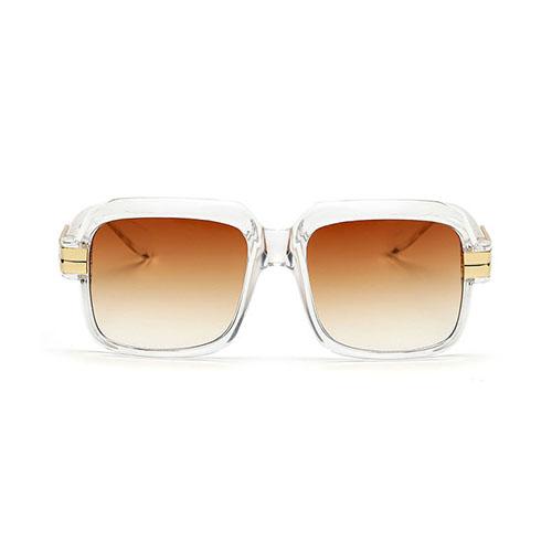 Fashion Tawney Metal Sunglasses