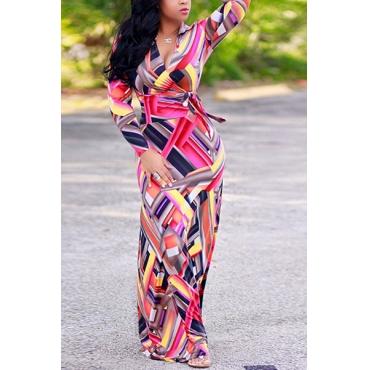 Twilled Satin Fashion V Neck Long Sleeve A Line Floor length Dresses